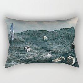 Survival of the tallest Rectangular Pillow