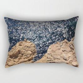 Sparkling Planet  Rectangular Pillow