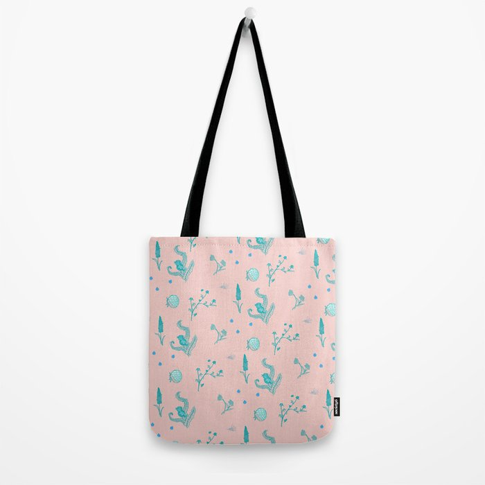 Design Based in Reality Pink Tote Bag