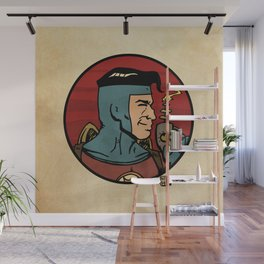The Space Adventurer Wall Mural