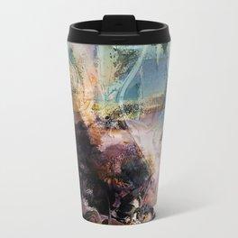 Morning Seashore Abstract Travel Mug