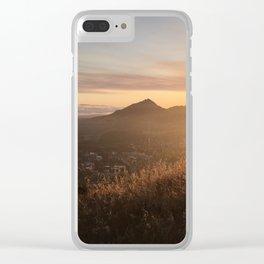 San Luis Obispo Sunset Clear iPhone Case