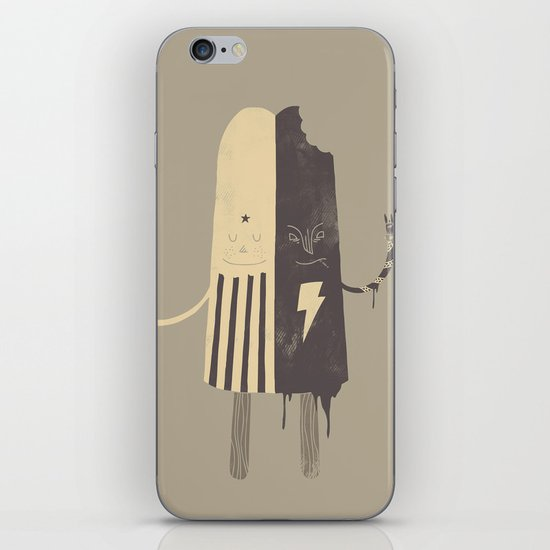 Non-Identical Twins iPhone & iPod Skin