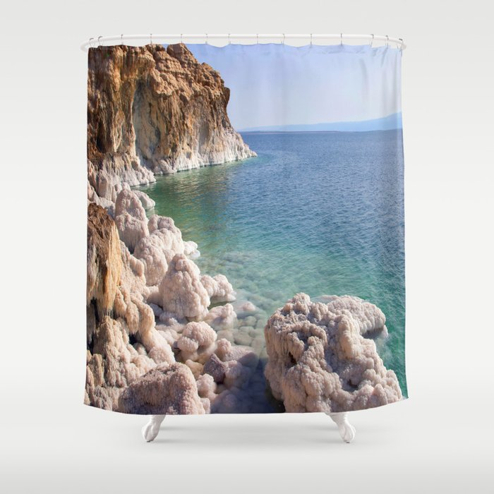 Salty Banks Shower Curtain