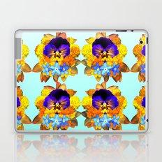 Royal Pansy Laptop & iPad Skin