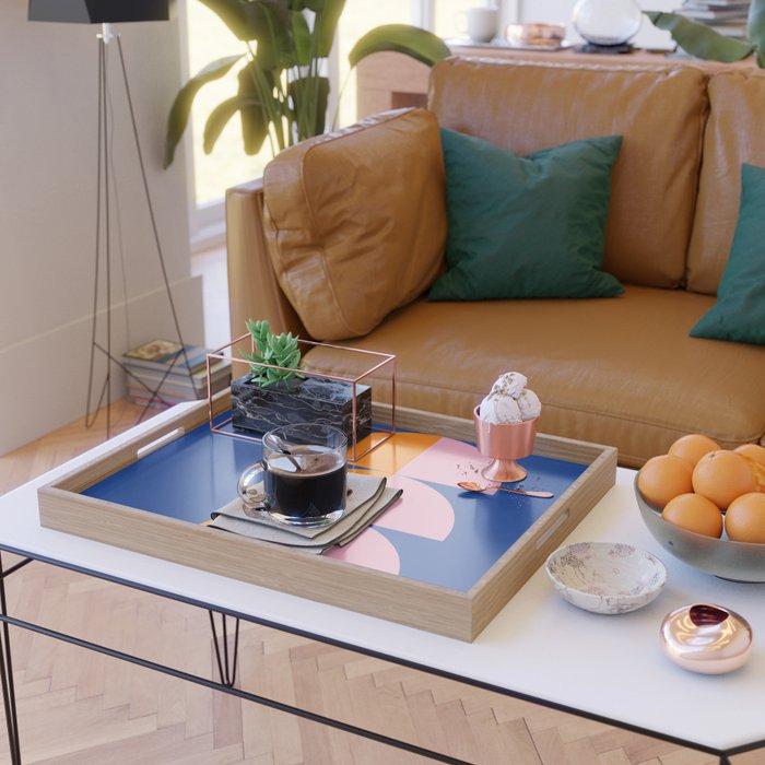 Spring- Pantone Warm color 02 Serving Tray