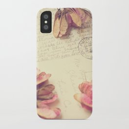 Victoria 1946 - Love Letter iPhone Case