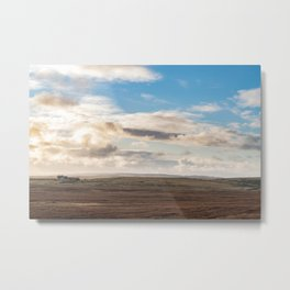 Scottish countryside landscape photography - The Highlands Metal Print
