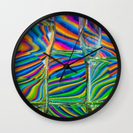 COLORS IN FREEDOM Wall Clock