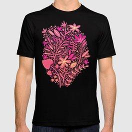 Garden – Pink Palette T-shirt