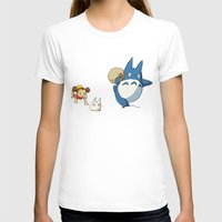 nausicaa T-shirts featuring となりのトトロ - Run by Studio Momo╰༼ ಠ益ಠ ༽