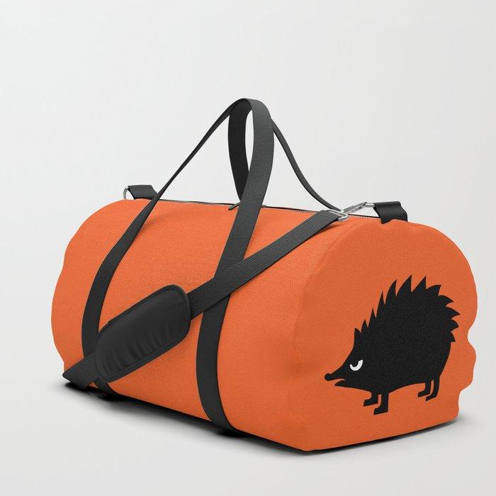 Angry Animals: hedgehog Duffle Bag