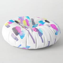 Chaotic Notes Floor Pillow