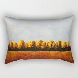Treeline in Fall Rectangular Pillow
