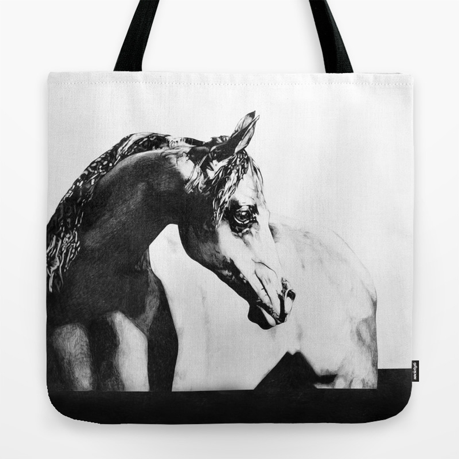 The point of knowing how to draw a horse Tote Bag