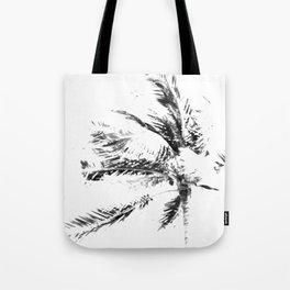 Palm Tree Sketch Tote Bag