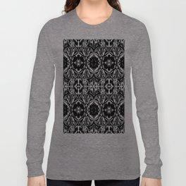 Zebra Butterfly Pattern Long Sleeve T-shirt