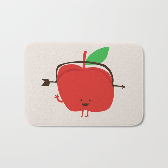 The Apple and The Arrow Bath Mat