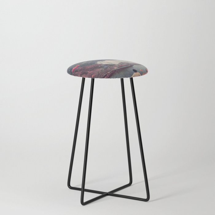 My Choices left me Alone Counter Stool