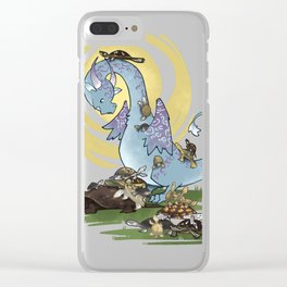 Hoard of turtles 2 Clear iPhone Case