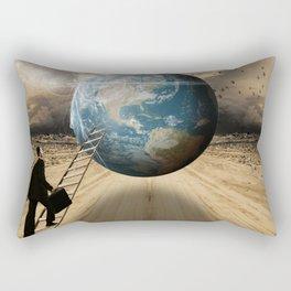 Return to the MotherShip Rectangular Pillow