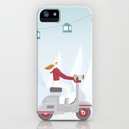 Ski Trip iPhone Case