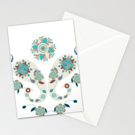 Paisley pattern DC Stationery Cards