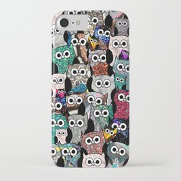 Gemstone Owls iPhone Case