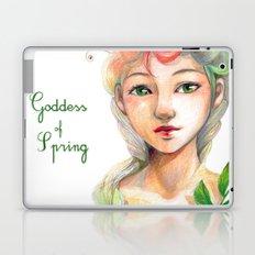 Goddess of  Spring Laptop & iPad Skin