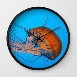Atomic Jellyfish Wall Clock