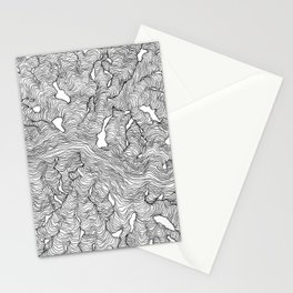 Enveloping Lines Stationery Cards