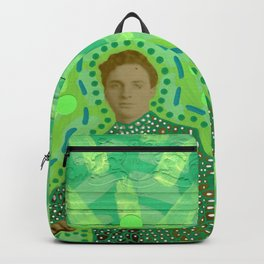 Lime Man Backpack