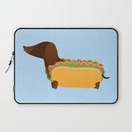 Wiener Dog in a Bun Laptop Sleeve
