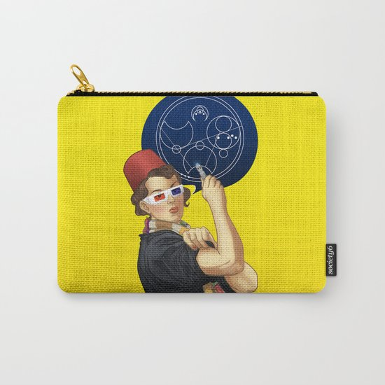 Whovian feminism Carry-All Pouch
