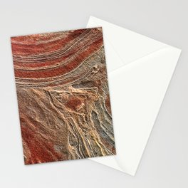 Paris Wilderness: Sandstone Pattern at the Wave Stationery Cards