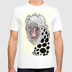 Monstrous and Free SMALL Mens Fitted Tee White
