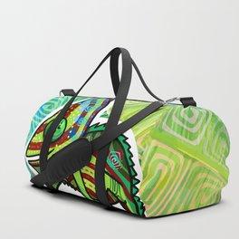 Chamaleon Pattern Duffle Bag