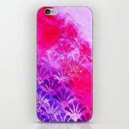 Pinky Purple Fanning iPhone Skin