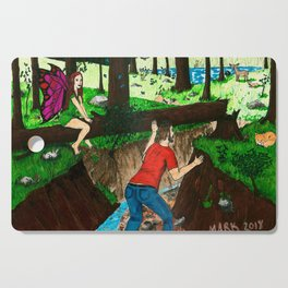 In Plain Sight Cutting Board