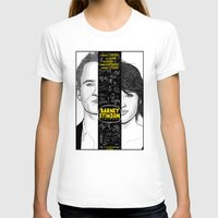 himym T-shirts featuring Barney Stinson Playbook (Silver Linings Playbook + HIMYM) by HuckBlade