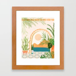 Baja California Villa Framed Art Print