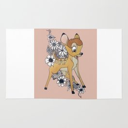 Peachy Bambi Rug