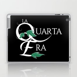 LaQuartaEra_Black Laptop & iPad Skin