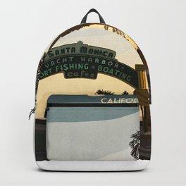 Santa Monica Beach Backpack