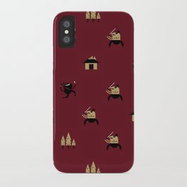 "Movie Patterns - ""Friday Martial Arts"" iPhone Case"