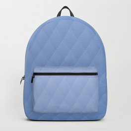 Relaxing Diamond Pattern - Blue Whale Backpack