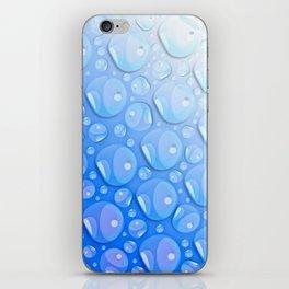Water Blue iPhone Skin