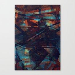exuberância + arrogância Canvas Print