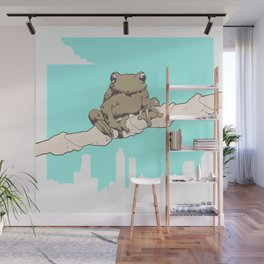 City Frog Wall Mural