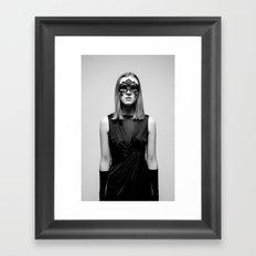 Metamorphosing Monochromes Framed Art Print